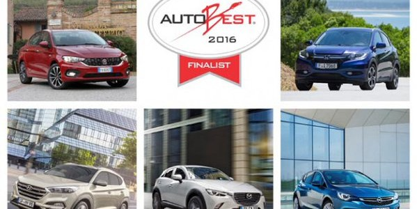 Five Cars in contention for AutoBest's 'Best Buy Car of Europe in 2016'