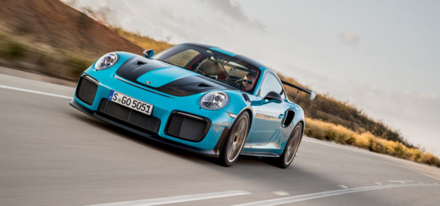 Flat out in Porsche's new 911 GT2 RS