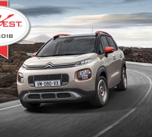 Citroën's C3 Aircross wins AUTOBEST 2018